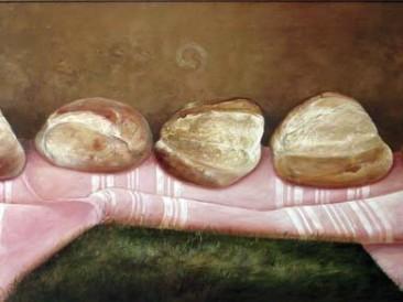 Hlebovi (ulje na platnu 120x55cm)