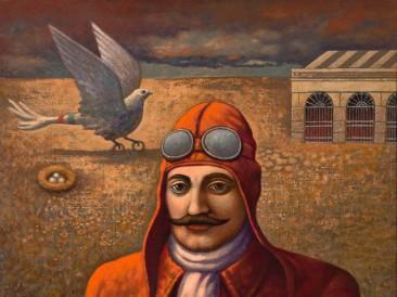 Crveni baron (ulje  2010. godina)