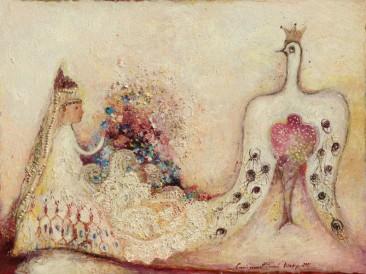 Princeza i princ (ulje na platnu)