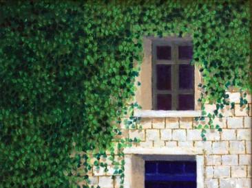 Vrata II (ulje na platnu 40x30cm)