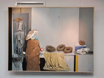 Javor Rašajski, Ptice (Galerija Atrijum Biblioteke grada Beograda)