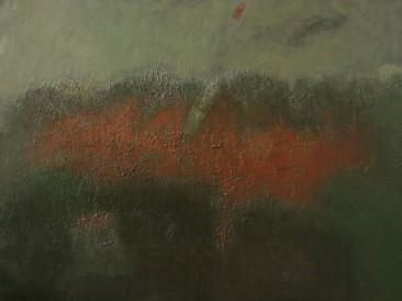 Erupcija (ulje na platnu) 1998. god.