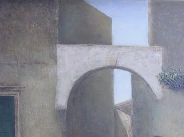 Kamena ulica (ulje na platnu) 1982. god.