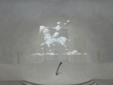 Monodrama-ekser (ulje na platnu 60x80cm) 2013.god.