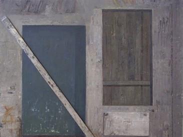 Obustavljeni radovi (ulje na platnu) 1985. god.