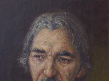 Portret Aleksandra Mikića Moravskog (ulje na platnu) 1997. god.