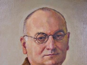 Portret Dušana Mrđe (ulje na platnu) 2010. god.