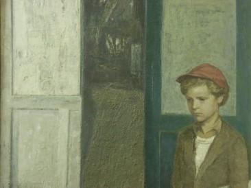 Portret Matije Rajkovića (ulje na platnu) 1985. god.