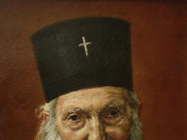 Portret Patrijarha Pavla (ulje na platnu) 2012. god.