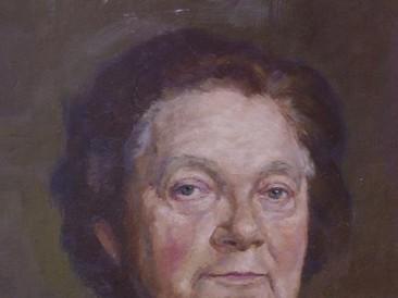 Portret Simke Rajković (ulje na platnu) 2012. god.