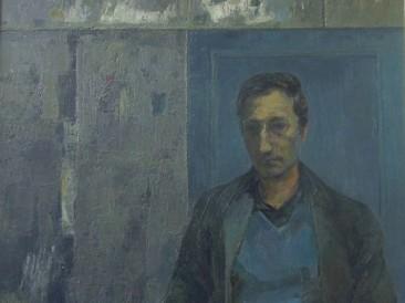 Portret Zorana Nikolića (ulje na platnu) 1988. god.