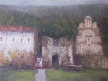 Ravanica (ulje na platnu) 2001. god.