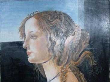 Simoneta Vespući (akrilik i akvarel, 39x31cm) 2011.god.