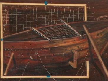Barka (ulje na lesonitu, 40x24cm)