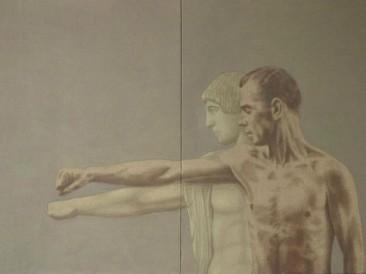 Paralela sa Apolonom (ulje na platnu, 120x80cm) 1983.god.