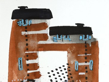 Crteži: Konaci i konačišta – 01