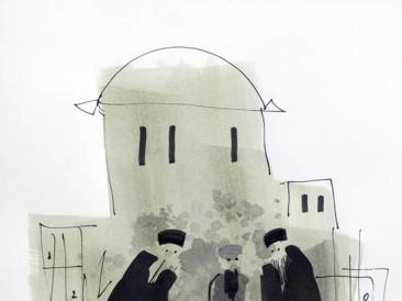 Crteži: Monasi – 08