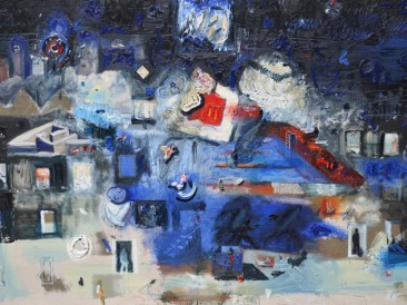 Insomnia (ulje na platnu, 120x180cm)