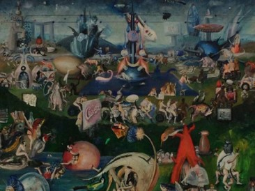 The Garden of Earthly Delights  (ulje na platnu, 67×57.5cm)