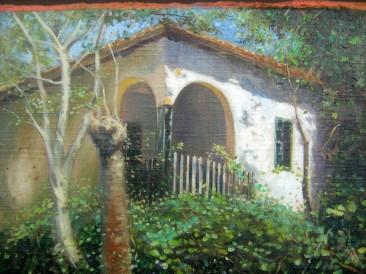 Stara kuća (ulje na platnu, 30x40cm)