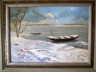 Zima (ulje na platnu, 50x70cm)