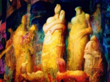 Pastirice (ulje na platnu, 60x73cm) 1997.