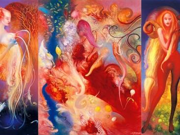 Fertility – 1 (oil on canvas, 125x205cm)