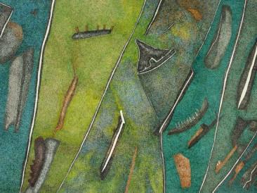 Derbi plac (tuš u boji, 1979.god.)