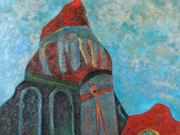 Hopovo (ulje na platnu, 1971.god.)