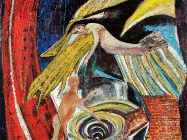 Žrtva (ulje na platnu, 1993.god.)