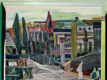 Sećanje na Pompeju (ulje na platnu, 2001.god.)