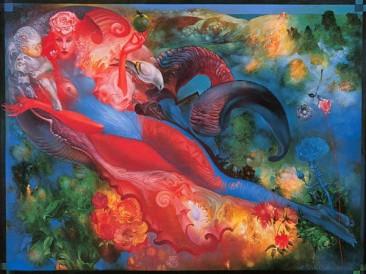 Aphrodite (oil on canvas, 95x125cm)