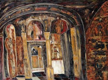 Crkva Svete Sofije u Ohridu (ulje na platnu, 2006.god.)