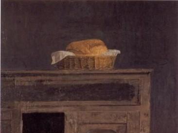 Korpa sa hlebom (ulje na dasci 85x60cm) 1989.