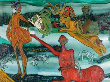 Svet kentaura (ulje na platnu, 2008.god.)