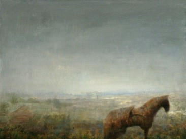 Jesen u polju (kombinovana tehnika) 2004.