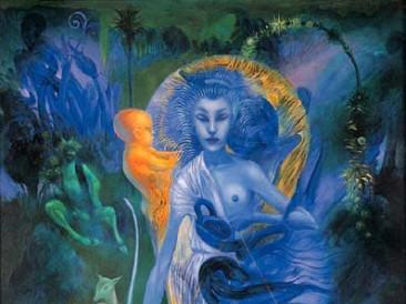 Artemis (oil on canvas, 72x50cm)