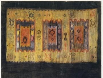 Ćilim (olovka, olovke u boji) 1992.