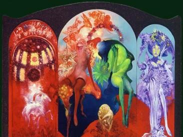 The Eden Gardens (oil on canvas, 35x55cm)