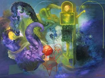 Dream (oil on canvas, 50x70cm)