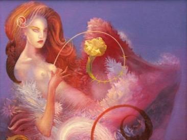Flora (oil on canvas, 65x50cm)