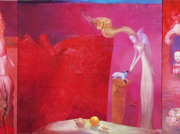 Window of memories (oil on canvas, 47x73cm)