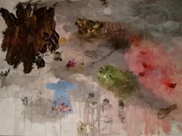 Memories (kombinovana tehnika na papiru, 100x70cm)