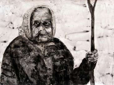 Portret-I-kombinovana-tehnika-100-x-70-cm-2015