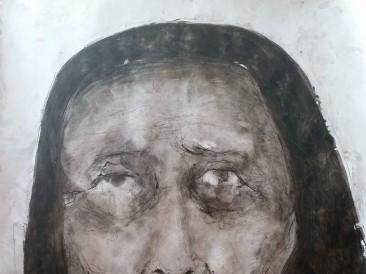 Portret-IX-kombinovana-tehnika-70-x-100-cm-2015