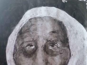 Portret-X-kombinovana-tehnika-70-x-100-cm-2015