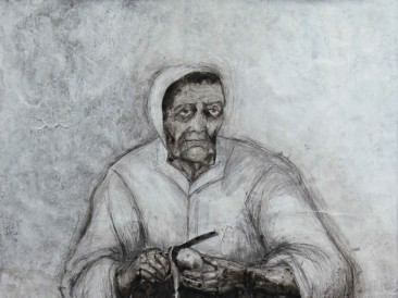 Portret-XIV-kombinovana-tehnika-130-x-200-cm-2015