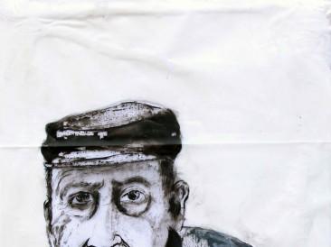 Portret-XX-kombinovana-tehnika-50-x-70-cm-2015