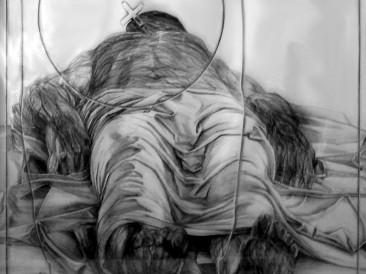 Morendo III – Mantenja (Crtež, 70x70cm) 1978.god.