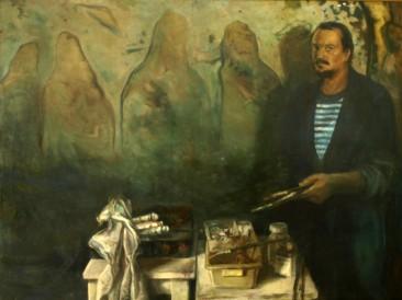 Autoportret (ulje na platnu, 140x110cm) 1981.god.